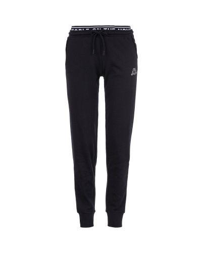 Спортивные брюки классические черный Kappa