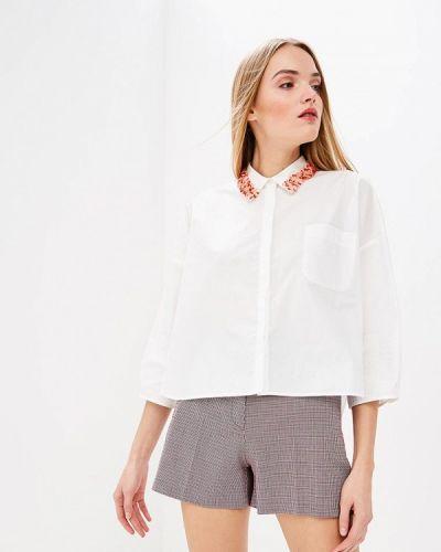 Белая рубашка с длинным рукавом Pinko