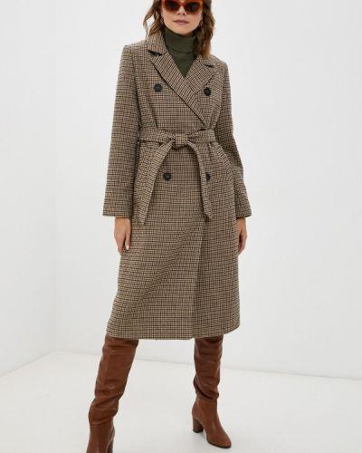 Бежевое демисезонное пальто Befree