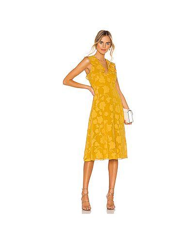 Платье миди с поясом на молнии Joie