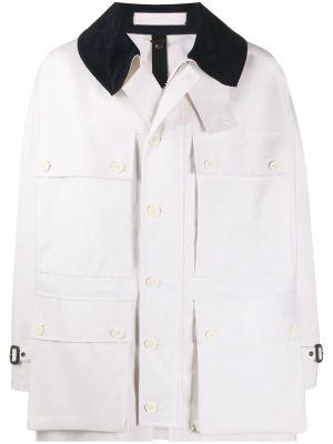 Длинное пальто - белое Mackintosh