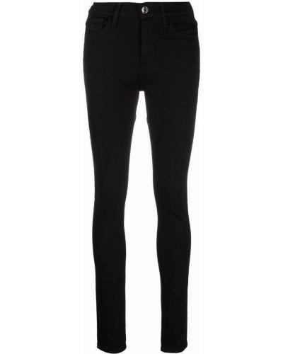 Черные хлопковые джинсы Jacob Cohen
