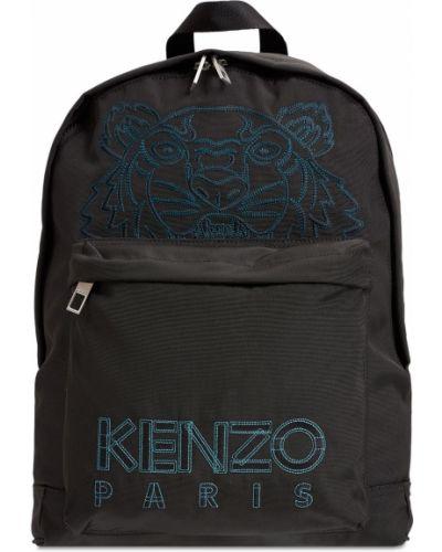 Рюкзак с вышивкой - черный Kenzo