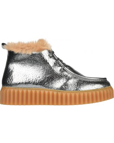 Кожаные ботинки осенние Voile Blanche