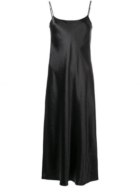 Платье миди - черное Vince.