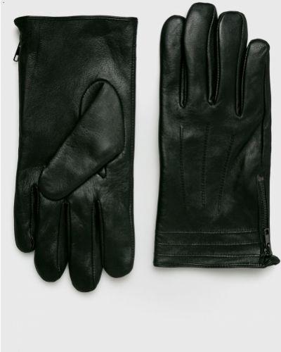 Skórzany rękawiczki czarny Medicine