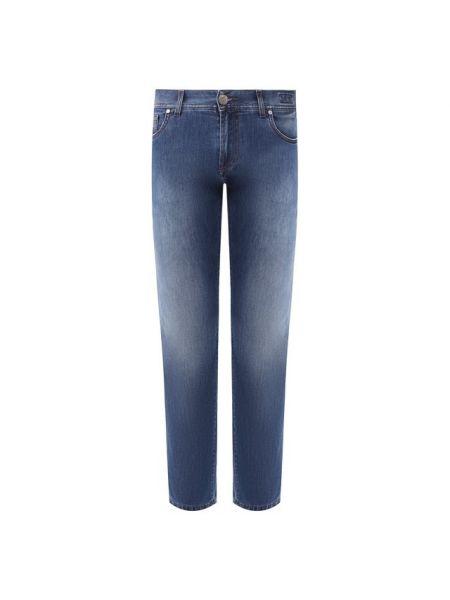 Прямые джинсы - синие Andrea Campagna