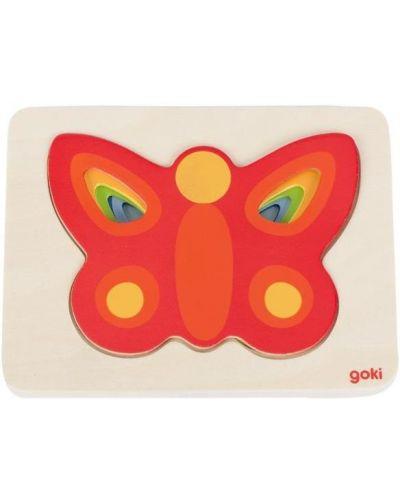Бабочка с бабочкой Goki