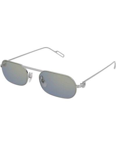 Szare okulary Cartier