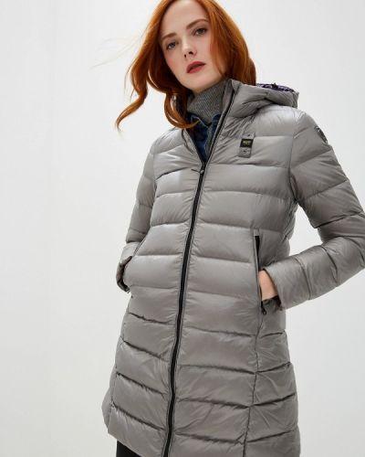 Зимняя куртка осенняя серая Blauer