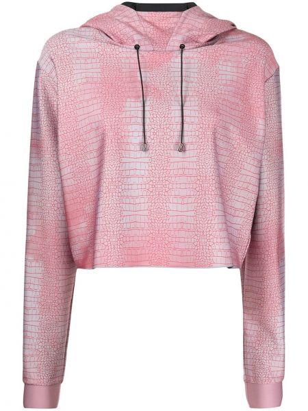 Różowa bluza z długimi rękawami Ultracor