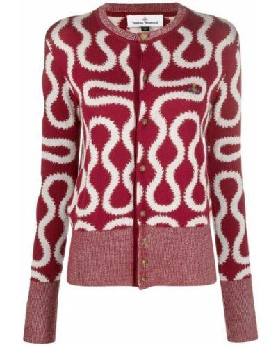 Czerwony sweter Vivienne Westwood