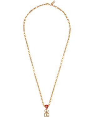Naszyjnik ze złota złoto Dolce And Gabbana