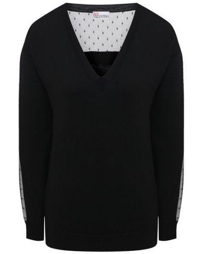 Трикотажный пуловер Redvalentino