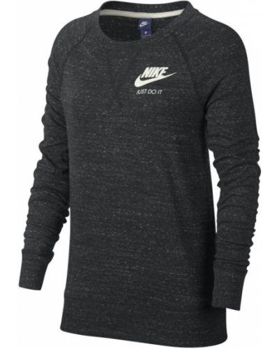 Черная блузка прямая Nike