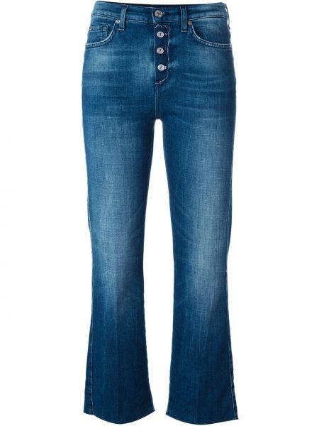 Расклешенные джинсы синие 7 For All Mankind
