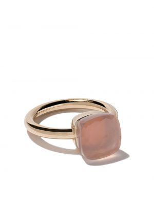 Кольцо белый кварцевый Pomellato