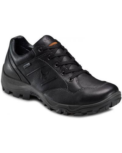 Кроссовки черные на каблуке Ecco