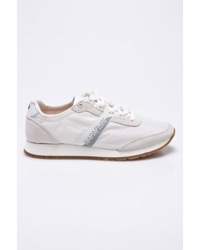 Белые кроссовки Napapijri