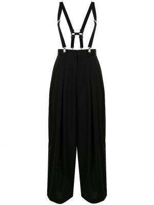 Spodnie wełniane - czarne Enfold