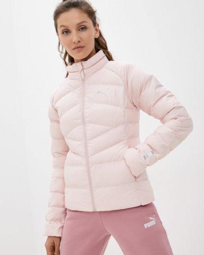 Утепленная куртка - розовая Puma