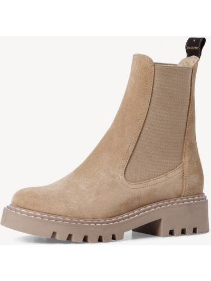 Кожаные ботинки челси - бежевые Tamaris