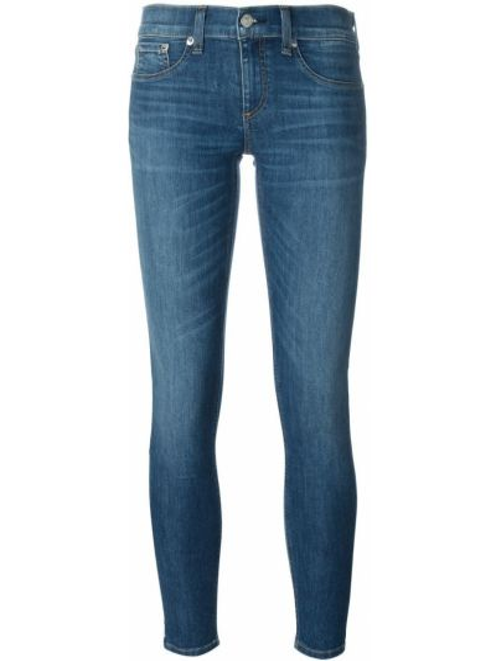 Зауженные джинсы - синие Rag & Bone/jean