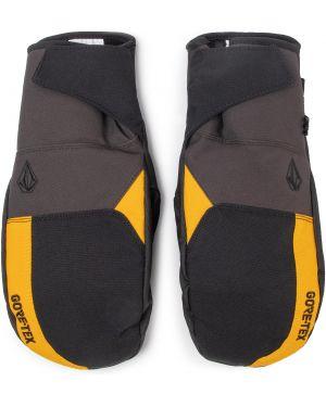 Czarne rękawiczki vintage Volcom