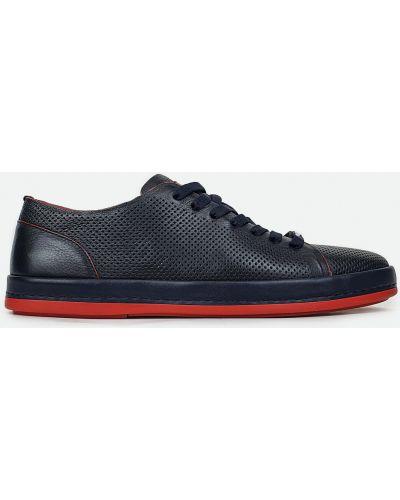 Кожаные туфли - синие Cosottinni