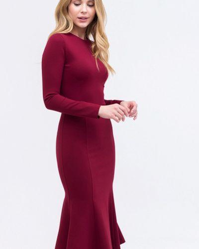 Платье бордовый красный Tzetze