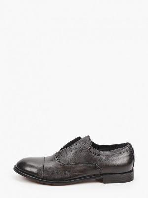 Черные кожаные оксфорды F.lli Rennella