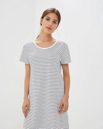 Белое платье футболка Roxy