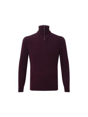 Фиолетовая итальянская свитер Svevo