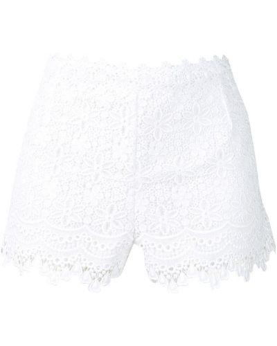 Белые ажурные шорты Charo Ruiz