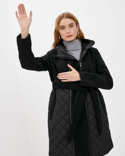 Теплая черная куртка Mama.licious