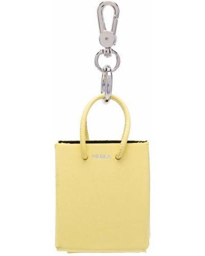 Żółta torebka skórzana Medea