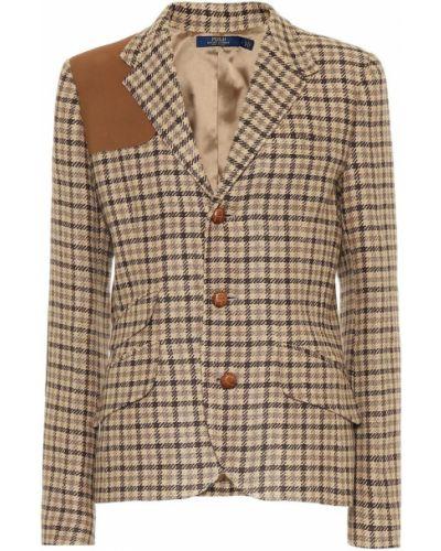 Пиджак льняной шерстяной Polo Ralph Lauren
