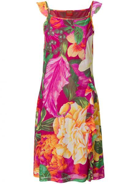Розовое платье винтажное Kenzo Pre-owned