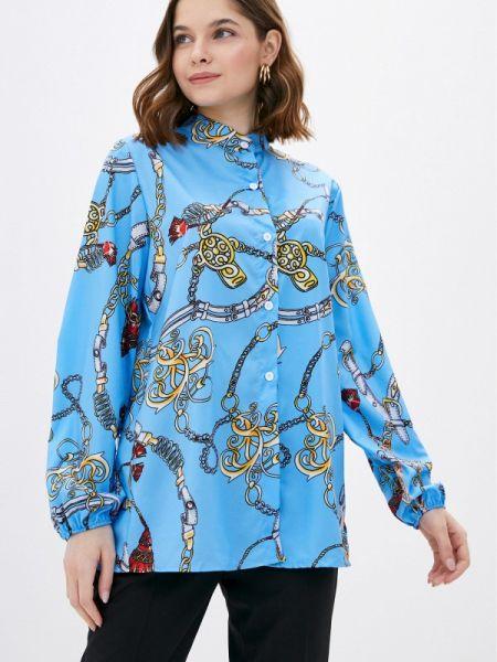 Блузка - голубая Marissimo