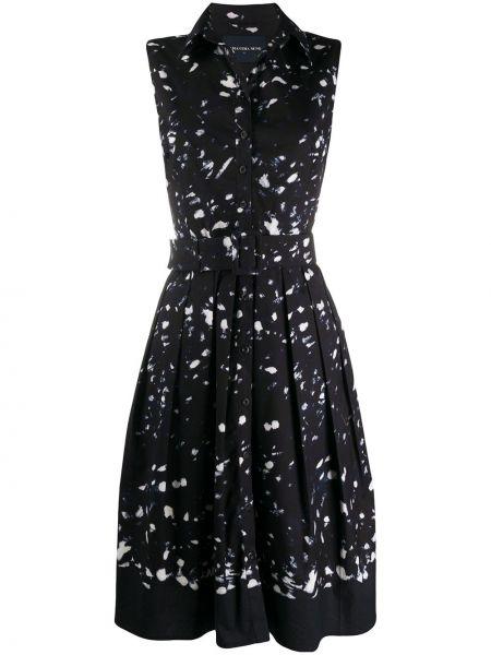Платье с поясом на пуговицах классическое Samantha Sung