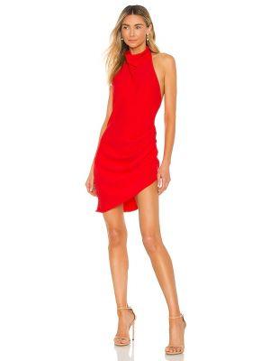 Шелковое платье - красное Amanda Uprichard