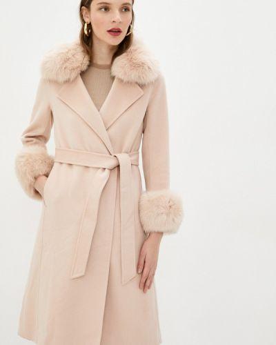 Розовое пальто Lusio