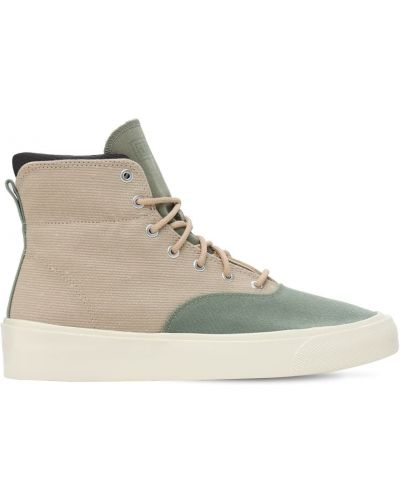 Кроссовки на шнуровке из канваса сафари Converse