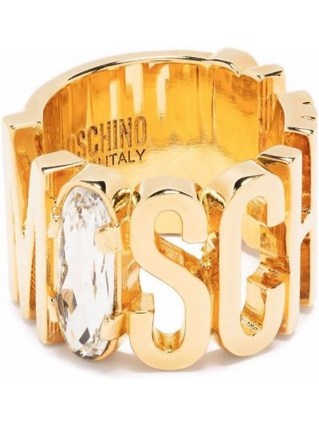 Złota bransoletka Moschino
