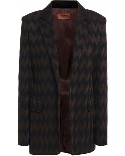 Шерстяной пиджак с карманами Missoni