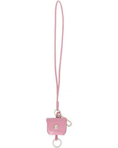 Skórzany różowy etui na klucze 3.1 Phillip Lim