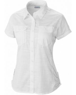 Рубашка с коротким рукавом деловая для офиса Columbia