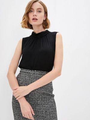 Черная блузка без рукавов Raya