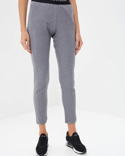Серые спортивные брюки Calvin Klein