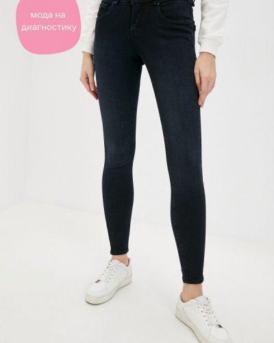 Синие джинсы-скинни узкого кроя Tiffosi